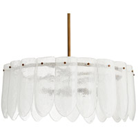 Eloise 6 Light 27 inch Clear Chandelier Ceiling Light, Single Tier