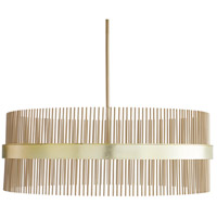 Arteriors 89114 Hozier 12 Light 34 inch Pale Brass Chandelier Ceiling Light