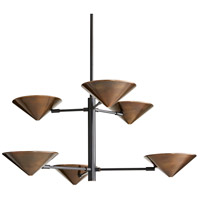 Mcvey 6 Light 36 inch Bronze Chandelier Ceiling Light