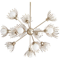 Murphy 13 Light 36 inch Vintage Silver Chandelier Ceiling Light