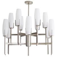 Arteriors 89127 Keifer 12 Light 36 inch Vintage Silver Chandelier Ceiling Light Large