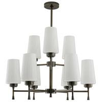 Arteriors 89309 Sigmund 9 Light 28 inch Dark Vintage Silver Chandelier Ceiling Light