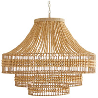 Tulane 8 Light 35 inch Natural Chandelier Ceiling Light