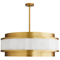 Arteriors 89337 Utterson 8 Light 32 inch Antique Brass Chandelier Ceiling Light