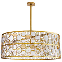 Arteriors 89342 Tripoli 8 Light 33 inch Antique Brass Chandelier Ceiling Light