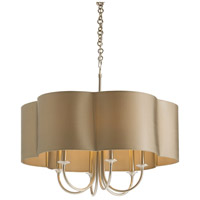 Arteriors 89408 Rittenhouse 6 Light 26 inch Antique Silver Chandelier Ceiling Light