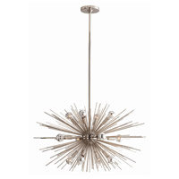 Arteriors Polished Nickel Steel Chandeliers