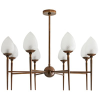 Arteriors 89674 Tumen 8 Light 30 inch Heritage Brass Chandelier Ceiling Light