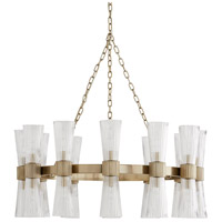 Arteriors 89675 Whittier 24 Light 36 inch Pale Brass Chandelier Ceiling Light