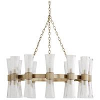 Arteriors 89675 Whittier 24 Light 36 inch Pale Brass Chandelier Ceiling Light
