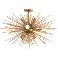 Arteriors 89967 Zanadoo 12 Light 30 inch Antique Brass Chandelier Ceiling Light Fixed