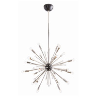 Imogene 24 Light 26 inch Polished Nickel and Bronze Chandelier Ceiling Light, Small