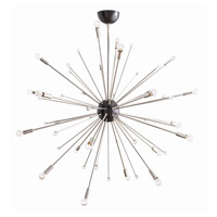 Arteriors 89978 Imogene 24 Light 42 inch Polished Nickel and Bronze Chandelier Ceiling Light Large