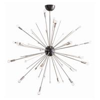 Arteriors 89978 Imogene 24 Light 42 inch Polished Nickel and Bronze Chandelier Ceiling Light Large