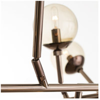 Arteriors 89981 Dallas 18 Light 58 inch Brown Nickel Chandelier Ceiling Light alternative photo thumbnail