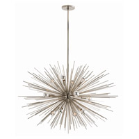 Arteriors 89989 Zanadoo 12 Light 33 inch Polished Nickel Chandelier Ceiling Light Large