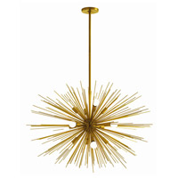 Arteriors 89991 Zanadoo 12 Light 33 inch Antique Brass Chandelier Ceiling Light Large