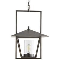 Arteriors DB49006 Temple 1 Light 19 inch Aged Bronze Pendant Ceiling Light Ray Booth