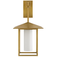 Arteriors DB49011 Temple 1 Light 13 inch Antique Brass Sconce Wall Light Ray Booth