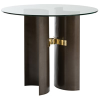 Xylo Natural Iron/Brushed Brass Table Home Decor