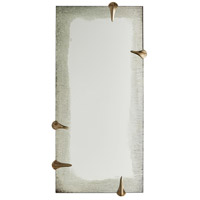 Arteriors DD2085 Edged Talon 47 X 23 inch Antiqued Mirror and Antiqued Brass Wall Mirror, Barry Dixon