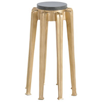 Octavia Antique Brass/Black Marble Accent Table Home Decor