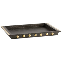 Jules Cerused Oak/Polished Brass Tray