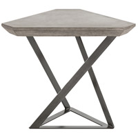 Rick 28 X 23 inch Gun Metal End Table