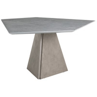 Arteriors DJ5007 Simon 60 X 30 inch Cerused Gray Dining Table