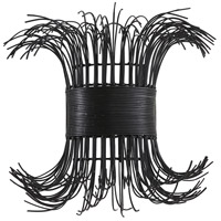 Arteriors DK49962 Filamento 1 Light 18 inch Black Sconce Wall Light, Laura Kirar