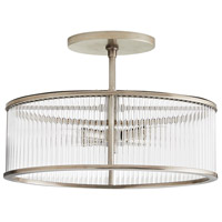 Arteriors DS49030 Windsor Smith Hera 4 Light 16 inch Vintage Silver Semi Flush Mount Ceiling Light, Oval