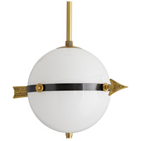 Arteriors DS49035 Windsor Smith Celestial 2 Light 18 inch Antique Brass and Dark Bronze Pendant Ceiling Light