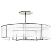 Arteriors DS89001 Hera 8 Light 44 inch Vintage Silver Chandelier Ceiling Light Oval