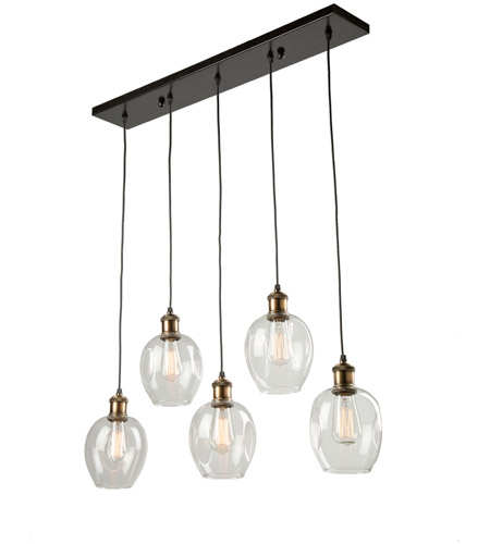 Artcraft ac10735vb clearwater 5 light 33 inch vintage brass island artcraft ac10735vb clearwater 5 light 33 inch vintage brass island light ceiling light aloadofball Gallery