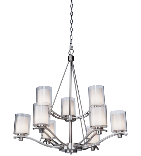 Artcraft Lighting Andover 9 Light Chandelier in Polished Nickel AC1139PN photo