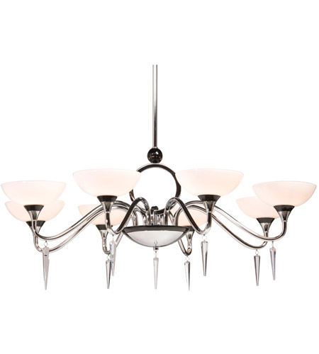 Artcraft Lighting Milano 8 Light Chandelier in Chrome AC1288 photo