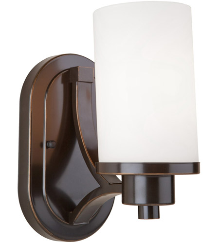 Artcraft AC1301WH Parkdale 1 Light 6 inch Oil Rubbed Bronze Wall Bracket Wall Light photo