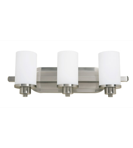 Artcraft AC1303PN Parkdale 3 Light 21 inch Polished Nickel Bathroom Vanity Wall Light photo