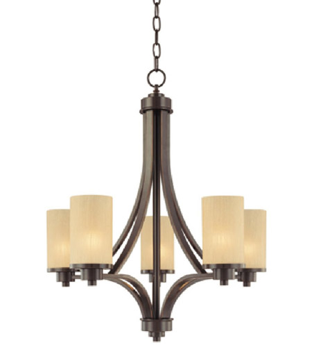 ARTCRAFT Parkdale 5 Light Chandelier in Oil Rubbed Bronze AC1305OB photo