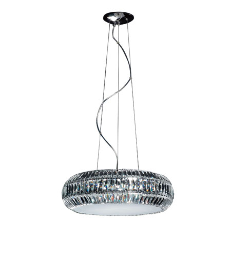 Artcraft Lighting Stellar 8 Light Chandelier with Frosted Glass AC133 photo