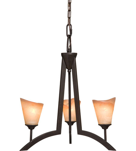 Artcraft Lighting Maestro 3 Light Chandelette in Oil Rubbed Bronze AC1393 photo