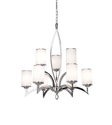 Artcraft Lighting Saturn 9 Light Chandelier in Polished Chrome AC1409 photo