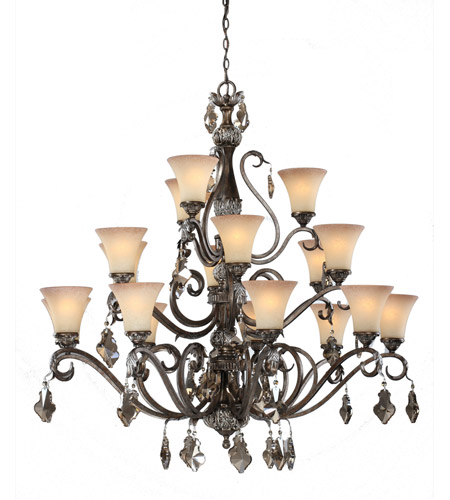 Artcraft AC1461 Vienna 18 Light 44 inch Multi Tone Bronze Chandelier Ceiling Light photo