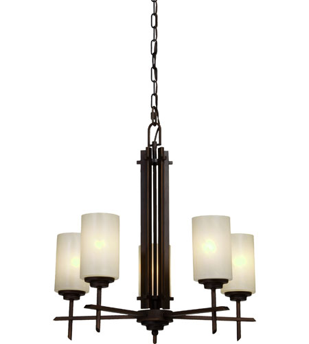 Artcraft Lighting Orlando 5 Light Chandelier in Oil Rubbed Bronze AC1495 photo