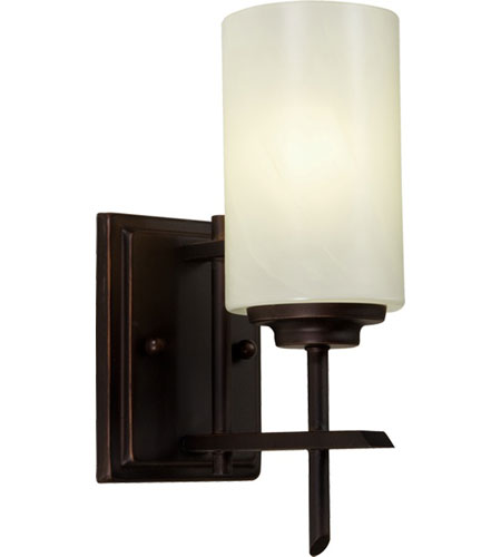 Artcraft Lighting Orlando 1 Light Wall Bracket in Oil Rubbed Bronze AC1497 photo