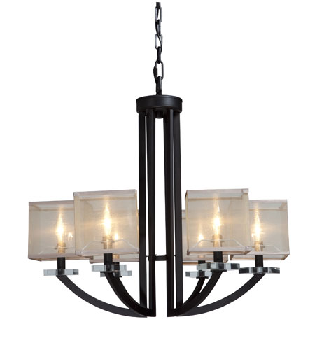 Artcraft Lighting Stowe 6 Light Chandelier in Oil Rubbed Bronze AC1586 photo