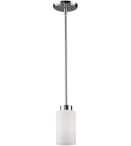 Artcraft AC1591PN Russell Hill 1 Light 4 inch Polished Nickel Pendant Ceiling Light photo