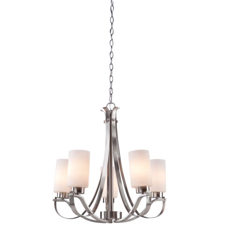 Artcraft Lighting Russell Hill 5 Light Chandelier in Oil Rubbed Bronze AC1595OB photo