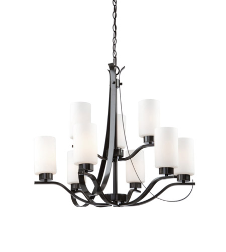 Artcraft AC1599OB Russell Hill 9 Light 28 inch Oil Rubbed Bronze Chandelier Ceiling Light photo