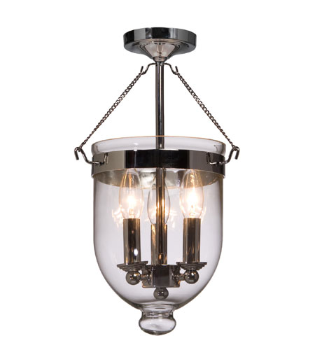 Artcraft Lighting Apothecary 3 Light Pendant in Chrome